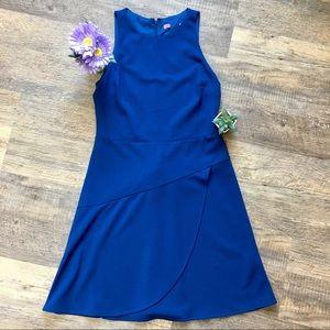Betsey Johnson Blue Sleeveless Dress